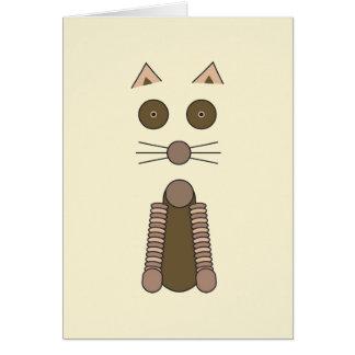 Tarjeta CAT de Tabby