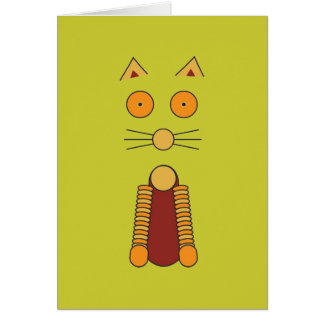 Tarjeta CAT del naranja