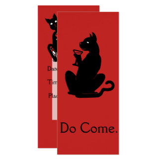 Tarjeta CAT INSCRITO del CÓCTEL por Slipperywindow