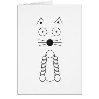 Tarjeta CAT llano