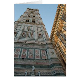 Tarjeta Catedral del Duomo, Florencia, Italia