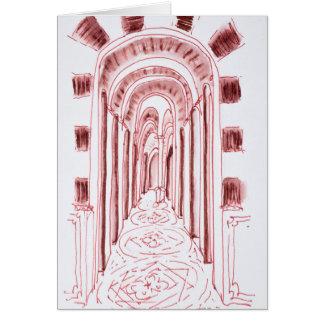 Tarjeta Catedral el | Marsella, Francia de Marsella