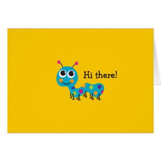 Tarjeta Caterpillar Notecard