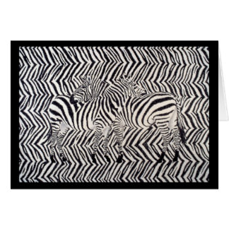Tarjeta Cebras: Leído entre las líneas