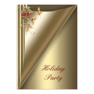 Tarjeta Celebración de días festivos roja del navidad del