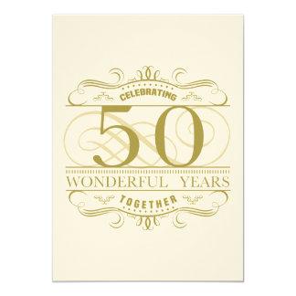 Tarjeta Celebración del 50.o aniversario