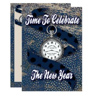 Tarjeta Celebre el Año Nuevo - el fiesta del Año Nuevo