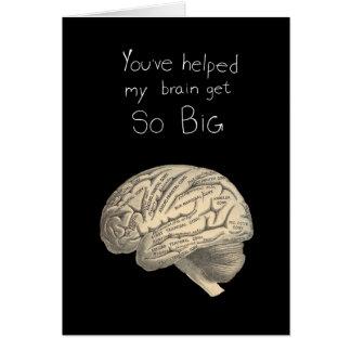 Tarjeta Cerebro tan grande