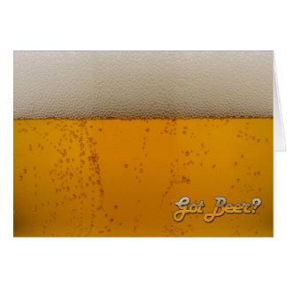 Tarjeta ¿Cerveza conseguida?
