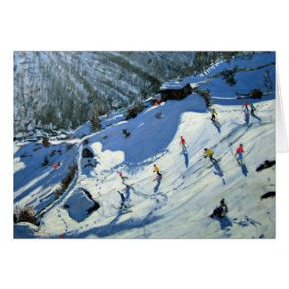 Tarjeta Cervino Zermatt