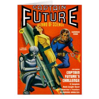 Tarjeta ¡Challenge de capitán Future's!