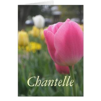 Tarjeta Chantelle