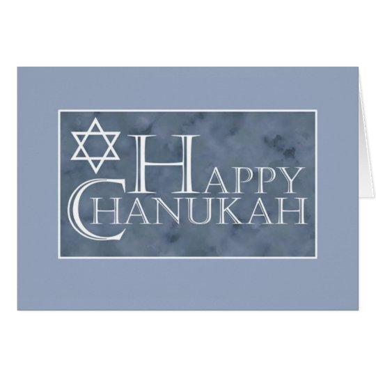 Tarjeta Chanukah feliz