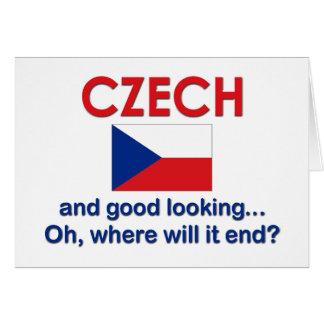 Tarjeta Checo apuesto