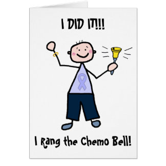 Tarjeta Chemo Bell - general Cancer Male