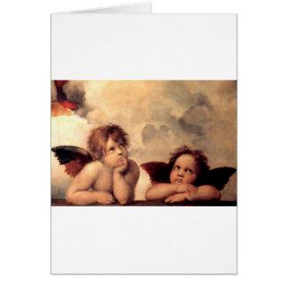Tarjeta Cherubim - Raphael