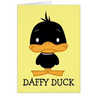 Tarjeta Chibi DAFFY DUCK™