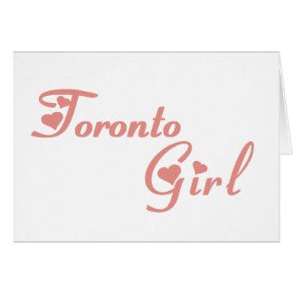 Tarjeta Chica de Toronto