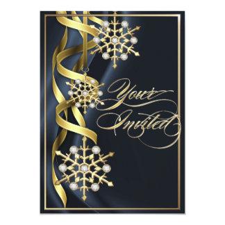 Tarjeta chillona Jeweled del día de fiesta del Invitación 12,7 X 17,8 Cm
