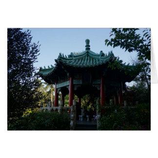 Tarjeta china del pabellón #2 de San Francisco