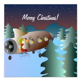 Tarjeta Christmas Card Spacerocket
