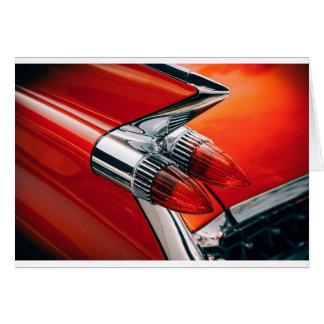 Tarjeta Cierre anaranjado del coche para arriba