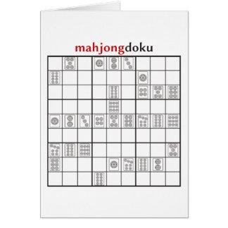 Tarjeta círculo del mahjongdoku