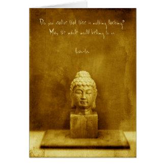 Tarjeta Cita de Tzu del Lao