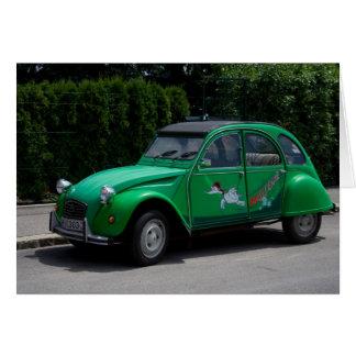 Tarjeta Citroën 2CV Saussewind
