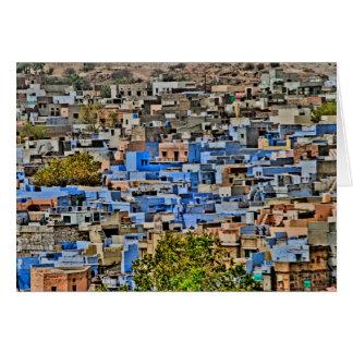 Tarjeta Ciudad azul, Rajasthán
