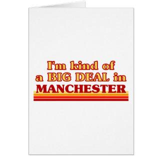 Tarjeta Clase de I´m de una gran cosa en Manchester