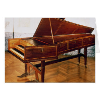 Tarjeta Clavicordio que pertenece a Francisco Joseph Haydn