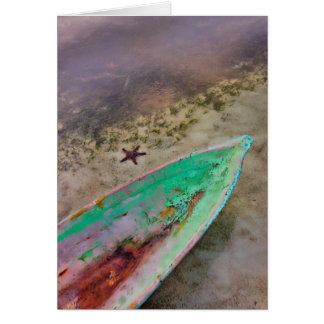 Tarjeta Cobertizo y estrellas de mar, de memoria