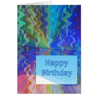 Tarjeta Colección asombrosa del feliz cumpleaños