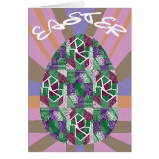 Tarjeta Colección de Pascua 2018 - huevo de Pascua