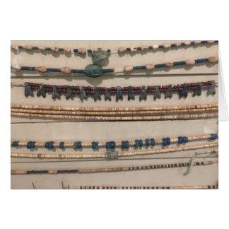 Tarjeta Collares del Egyptology
