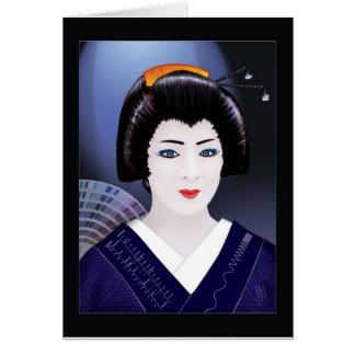 Tarjeta Color del geisha