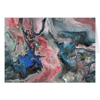 Tarjeta Colores cósmicos
