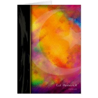 Tarjeta Colores de Eid