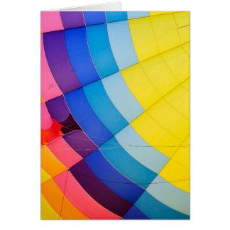 Tarjeta Colorido abstracto