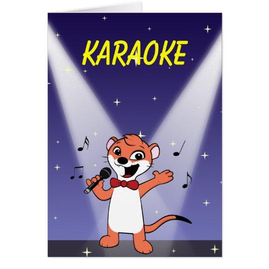Tarjeta Comadreja de BG 2, Comadreja-mascota, KARAOKE