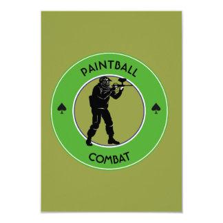 Tarjeta Combate de Paintball