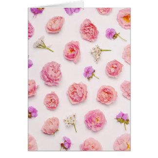 Tarjeta Composición floral hermosa