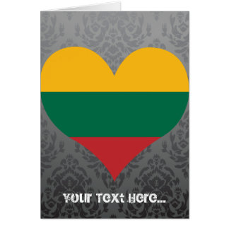 Tarjeta Compre la bandera de Lituania