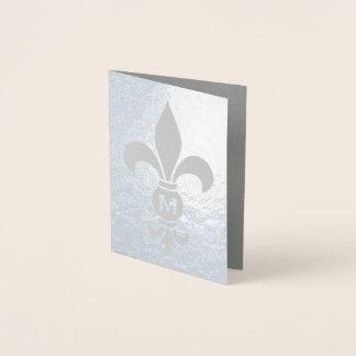 Tarjeta Con Relieve Metalizado Efecto metalizado real minimalista elegante del