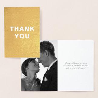 Tarjeta Con Relieve Metalizado El boda de encargo del efecto metalizado de oro de