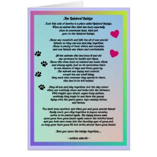 Tarjeta Condolencia del mascota