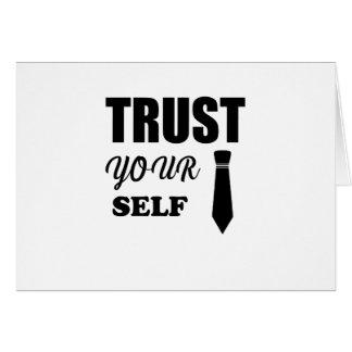 Tarjeta confianza