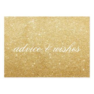 Tarjeta - consejo fabuloso y deseos tarjetas de visita grandes