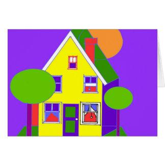 Tarjeta copia del ilustrador de la casa 300dpi